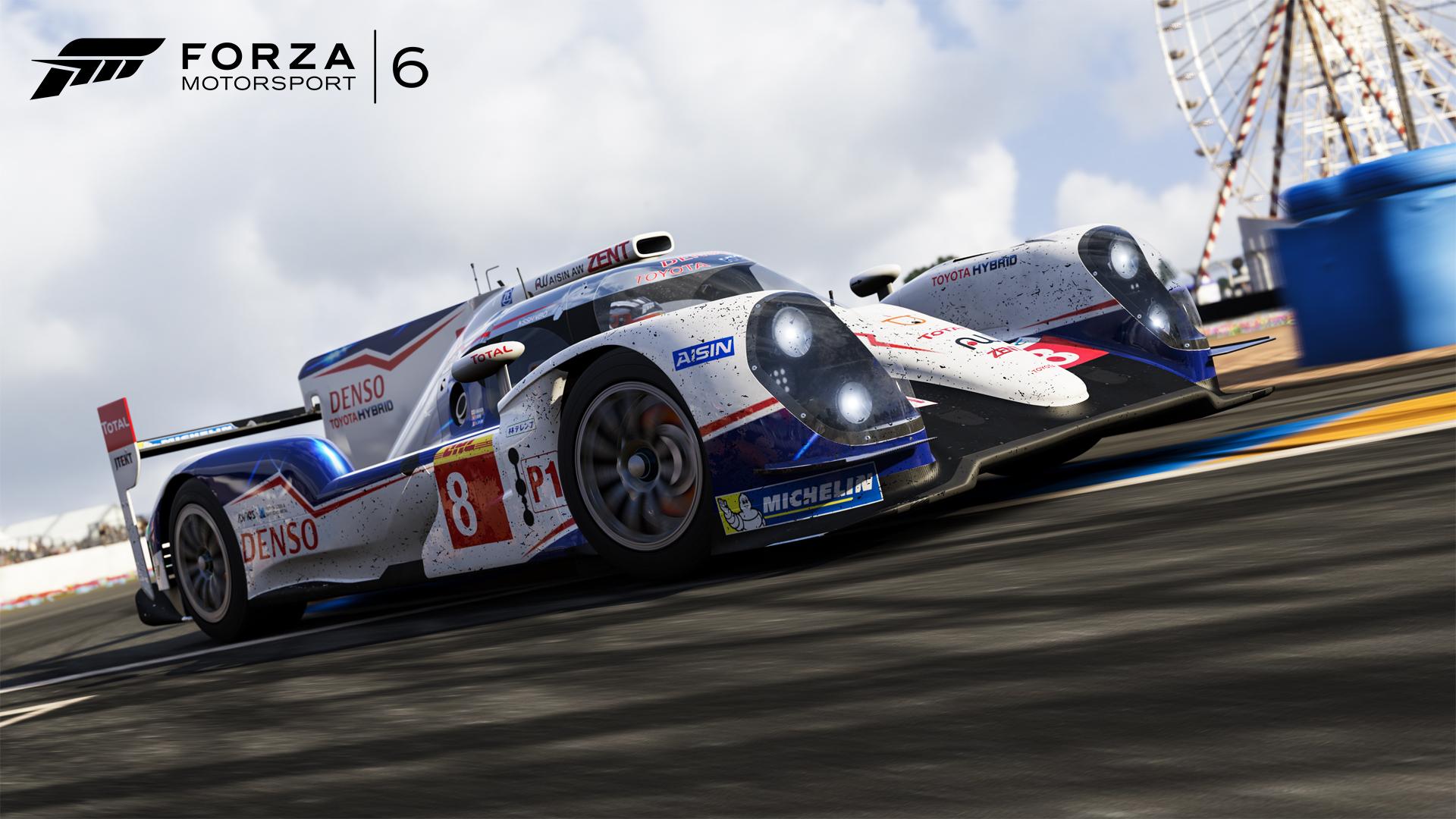 2014 Toyota #8 Toyota Racing TS040 HYBRID